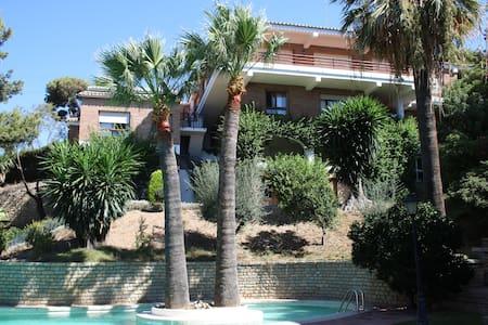 Villa Las Yedras.  Málaga city. - Malaga - Villa