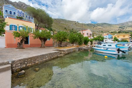 Lefkadio studio, on the sea - Ano Symi