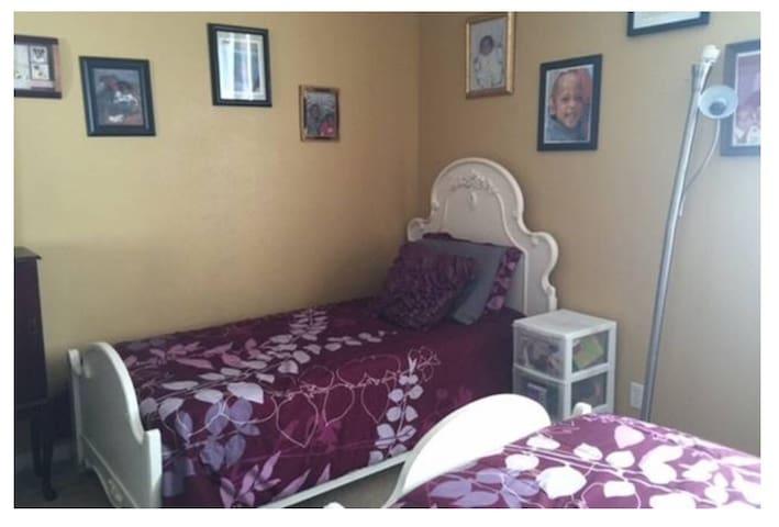 Nice quit bedroom