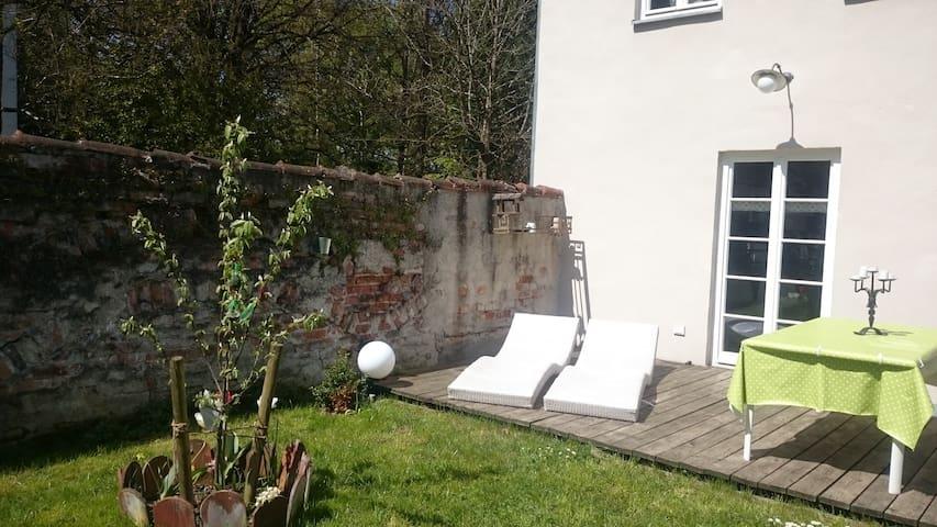 historisches Haus im Zentrum von Landsberg - Landsberg am Lech - Дом