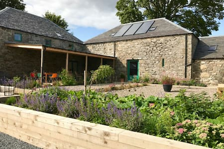 Burmieston Steading, eco retreat in Perthshire
