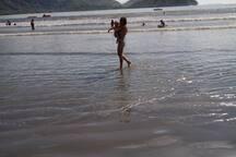 praia do pereque açu a 5 min a pé