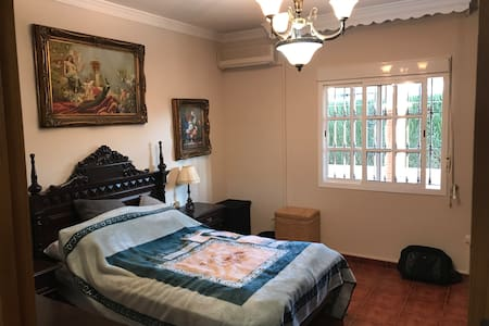 Private Master bedroom with WiFi
