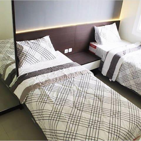 Cozy Apartment at Parahyangan Bandung 2BR5guests