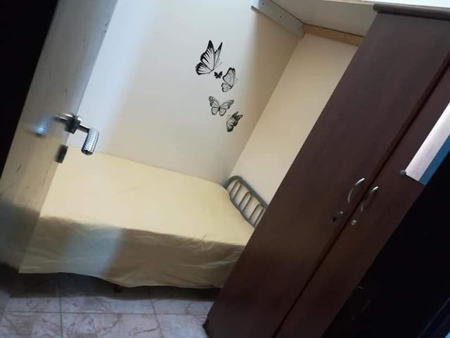 Small private room with attached washroom
