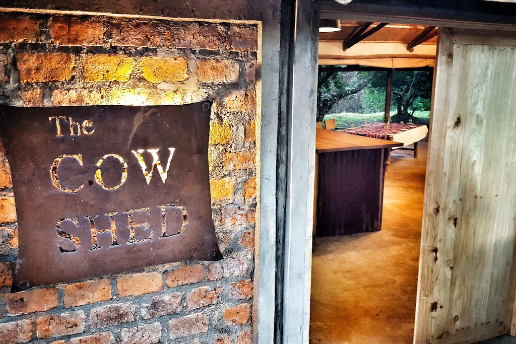 The Cow Shed - bar and dining by the Mara River