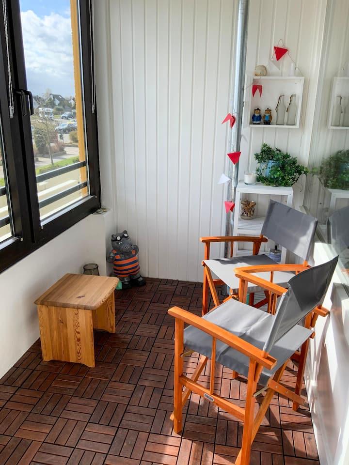 Sonnige & strandnahe 1,5 Zimmerwohnung (7211)