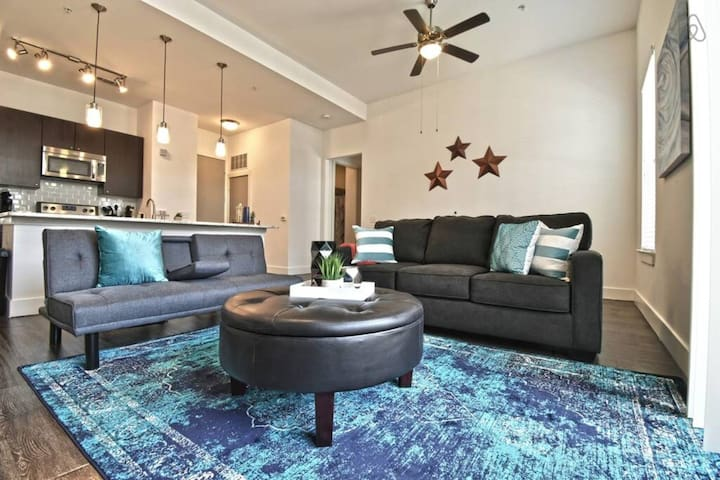 Stylish 1Bdroom Apartment  American Airline Center
