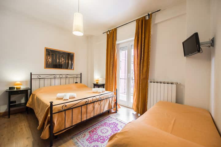 Double room in b&b Villa Adriana