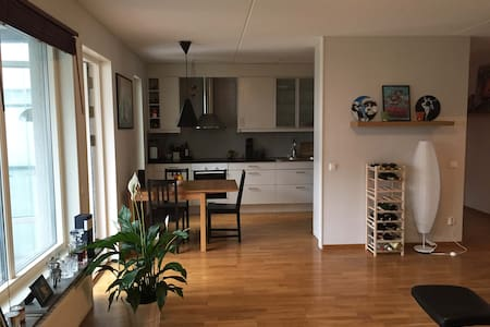 Central, modern and cozy apartment - Uppsala