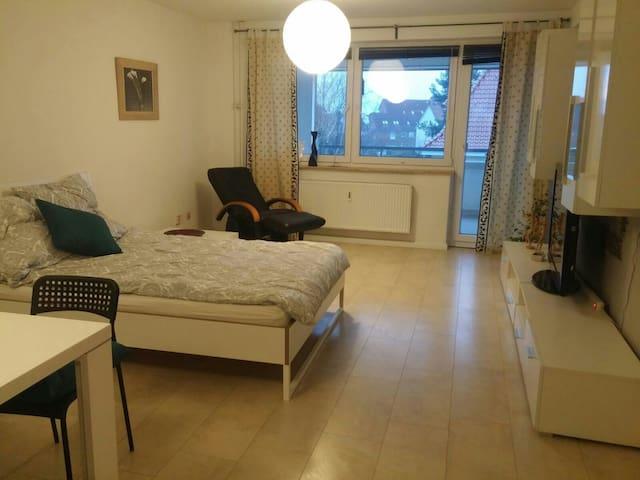 1 Zimmer,frisch renoviert, alles neu, ruhig. - Ronnenberg - Leilighet