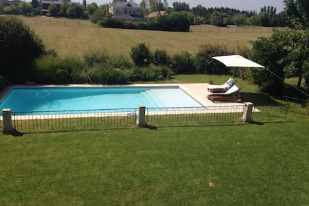 Peaceful+ Polo Rugby Golf Tennis Weekly rental - Pilar - Haus