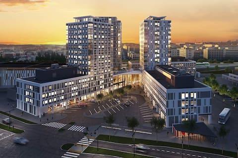 Kuopio Station Tower House +免費停車位