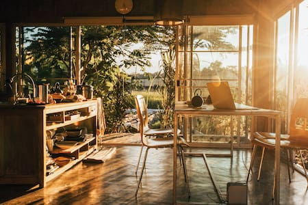 Charming House wth Breath Taking Sunset in Mae rim - Rim Nuea - House