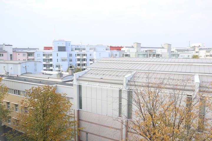 Perheelle sopiva mukava yksiö Helsingin ytimessä 4
