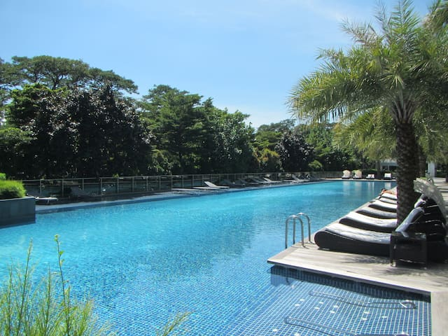 Resort-style stay in city-fringe - Singapore - Huoneisto