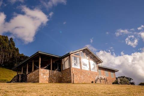 Mountain House dans la région du Monte-Vert