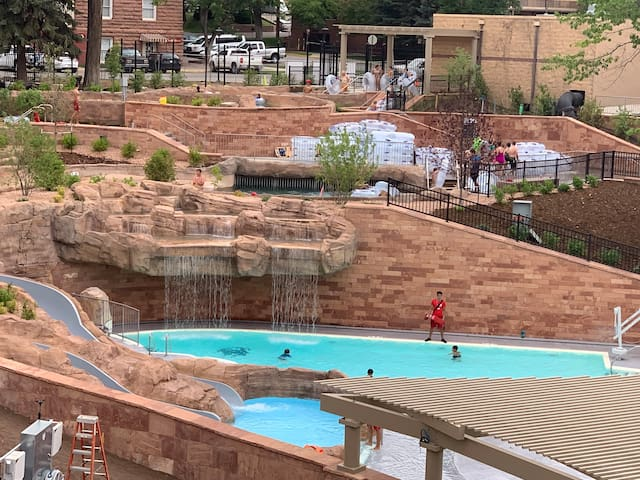 Glenwood Hot Springs new pool and slide