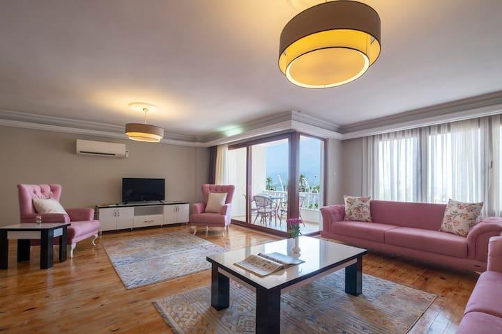 Fethiye City Aparts, Sea View&Renovated&Comfy