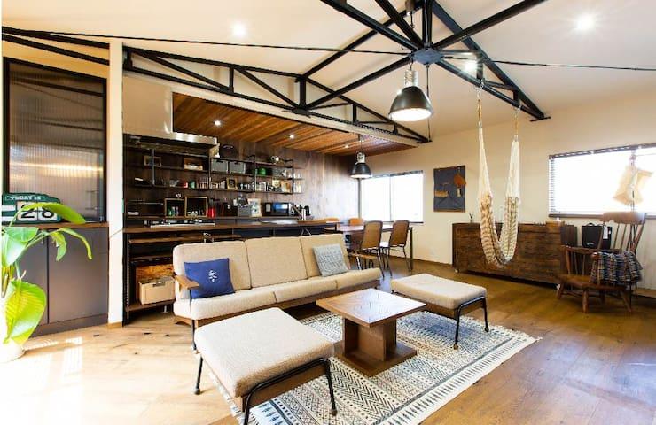 A stylish house102 near the station Wi-Fi OK!!