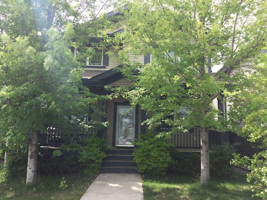Canadian Maple Trees Welcome you into this Beautiful 5 bedroom home.