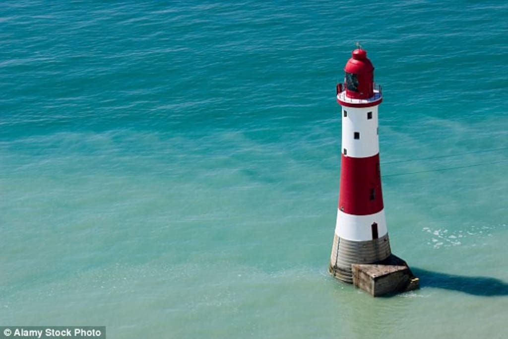 Beachy Head and the turquoise waters by the lighthouse are on our doorstep