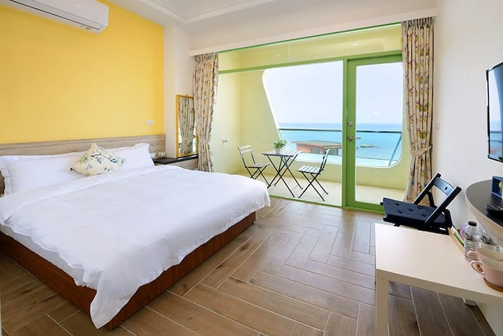 301 double room. Ocean view suite with balcony