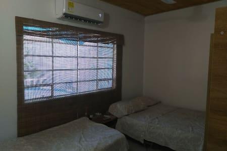 Casa en clima cálido para descansar en familia.