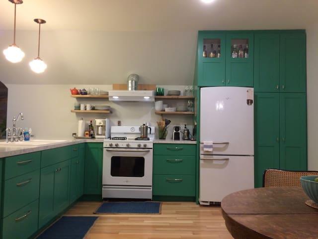 Eclectic Loft Apartment - Eau Claire - Apartemen