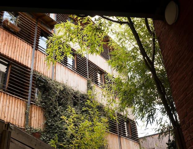 Loft avec jardin à Montmartre