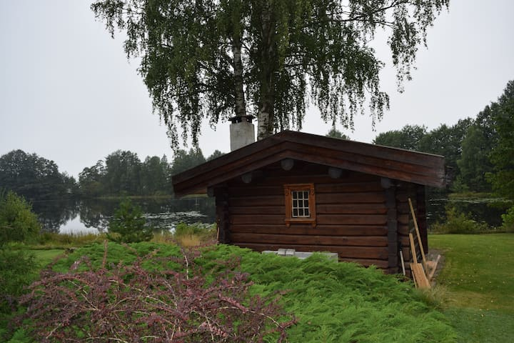 Cosy cabin by the lake in beautiful Spro, Nesodden - Nesodden - Cabaña