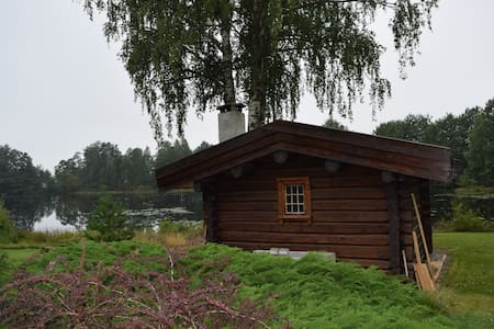 Cosy cabin by the lake in beautiful Spro, Nesodden - Nesodden - Kulübe