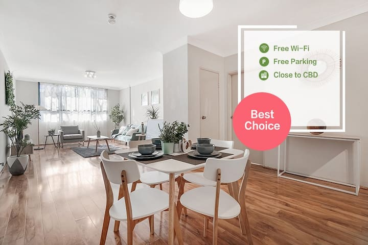 Walk to all amenities,20mins to CBD,with parking