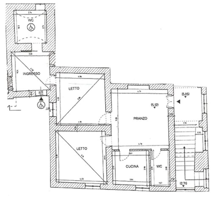 cartina appartamento