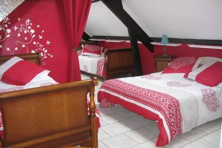 Chambre d'hôtes - La Rose des Vents - Gästehaus