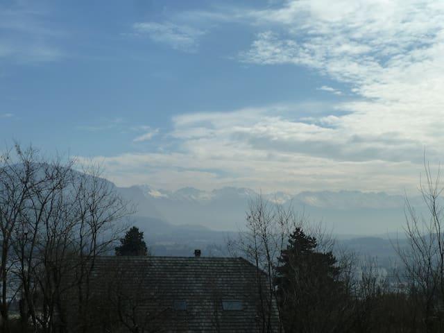 Appartement situé sur les hauteurs de Chambéry - Bassens - Apartmen