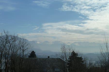 Appartement situé sur les hauteurs de Chambéry - Bassens - Lägenhet