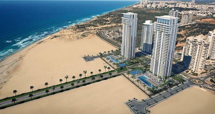 Prince Palace Netanya Beach Towers 3BR 145m ⭐️⭐️⭐️⭐️⭐️