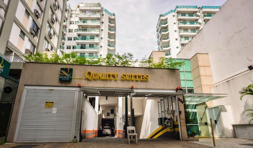 Hotel Quality Suites Botafogo! STUDIO SUPERIOR.