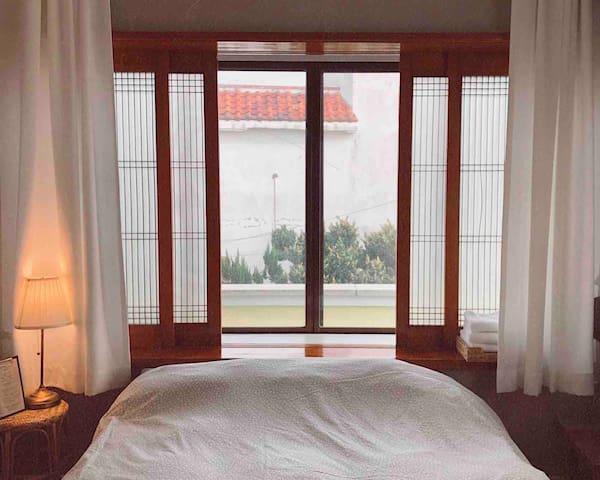 하버하우스 웨스트  Drum room 2인실 (Double bed)