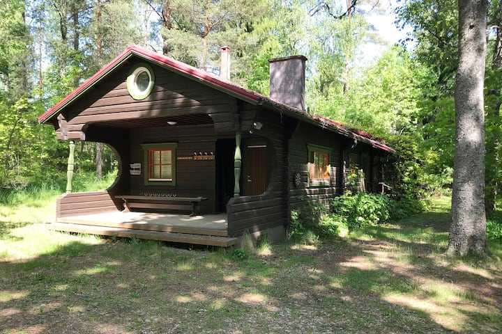 Gruneberg Big Cottage - Forest , Rocks and Sea