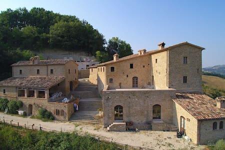 Medieval Romantic Room - Provincia di Pesaro e Urbino - Castelo