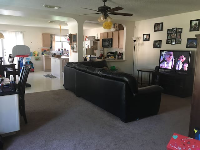 Home open for those displaced by Harvey