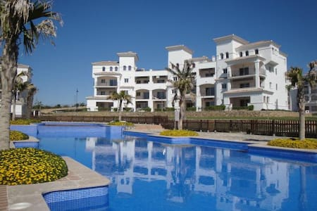 Cozy apartment H.Riquelme Golf - Sucina