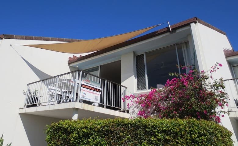 Lighthouse unit 2, Pet Friendly townhouse in Yamba