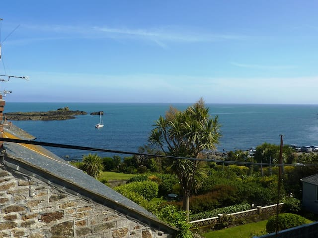 Stunning sea views from the master bedroom
