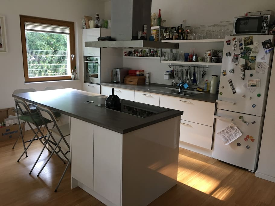 Fully Equiped Open Kitchen