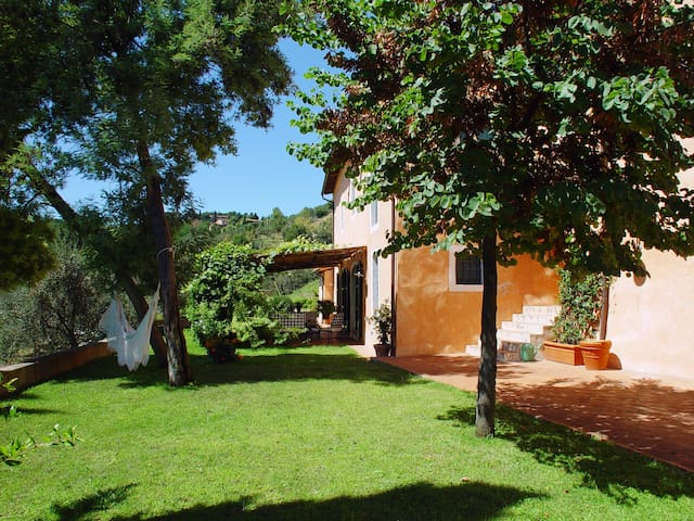 l'Arnolfa , your home on the Tuscany hills!