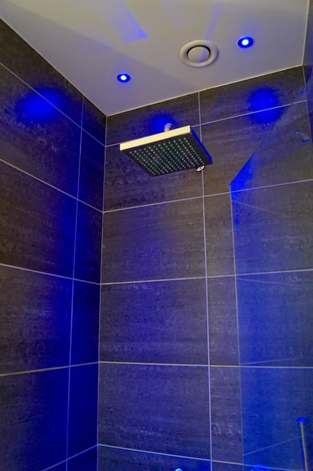 Huge and modern shower