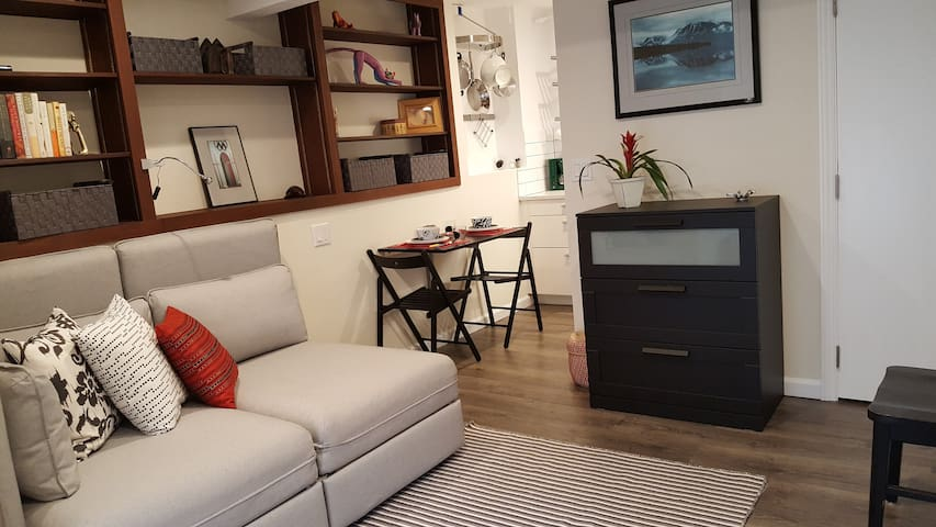 Cozy studio apartment on quiet wooded street - Kentfield - Departamento anexo